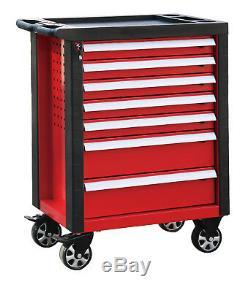 Roll Cab X Grand Coffre À Outils De Garage Professionnel - Coffre À 7 Tiroirs - Profond Et Grand Nouveau