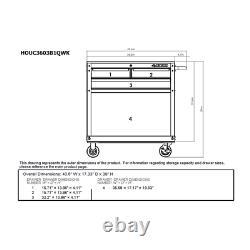 Rolling Tool Armoire Rangement Coffre Garage Boîte À Outils Organisateur Tiroir Husky Nouveau