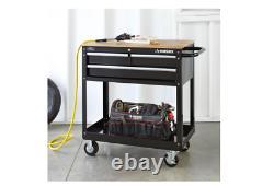 Rolling Tool Cabinet Storage Chest Box Garage Toolbox Organisateur Tiroir Husky Nouveau