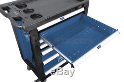 Scheppach Tw1000 Outil Cabinet Roller Avec 263 Outils 7 Tiroirs Atelier De Stockage