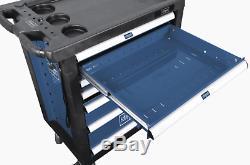 Scheppach Tw1000 Outil Rouleau Cabinet Avec 263 Outils 7 Tiroirs Atelier De Stockage