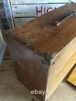 Scratch Built Wooden Engineers Toolmakers 5 Drawer & Space Wood Tool Cabinet Box