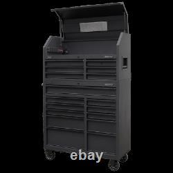 Sealey 17 Tiroir Outil Coffret Coffre Cabinet Combinaison Usb Soft Close Garage