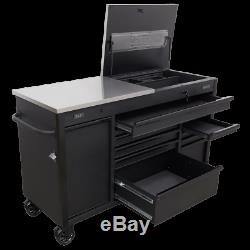 Sealey Ap6310be Armoire À Outils Mobile 1600 MM Avec Tiroir De Chargement Pour Outil Électrique