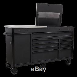 Sealey Ap6310be Mobile Armoire À Outils 1600mm Avec Power Tool Charge Tiroir