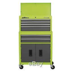 Sealey Green American Pro Coffre À Coffre À Bagages / Coffre À Outils À 6 Tiroirs Ap2200bbhv