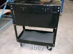 Sealey Heavy Duty Mobile D'outils Et Pièces De Rechange Chariot 4 Tiroirs Et Verrouillables Black Top