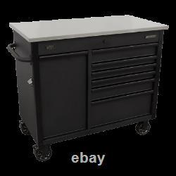 Sealey Mobile Tool Cabinet 1120mm Avec Tiroir De Charge Power Tool Ap4206be
