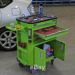 Sealey Outils Ap980mthv Outil Chariot Avec 4 Tiroirs, 2 Portes Armoire Et Étagère