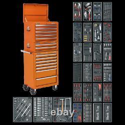 Sealey Tool Chest Combo 14 Tiroirs À Roulement À Billes Et Kit D'outils 1179pc Sptocombo1
