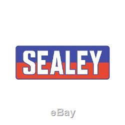 Sealey Verrouillage Rollcab 7 Tiroirs Mécanisme Boîte À Outils / Coffre Rouge Et Gris Ap22507bb