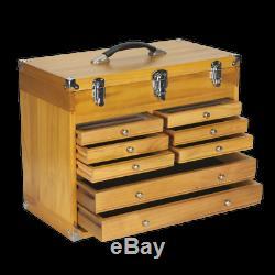 Sealey Wood Boîte À Outils Pour Armoire, Coffre À Outils, Coffre À Outils, Tiroir, Coffre À Outils Ap1608w