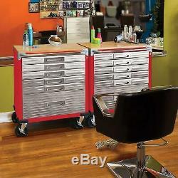 Séville Heavy Duty Outil De Roulement En Acier Inoxydable Boîte 6 Tiroirs Cabinet Workbench