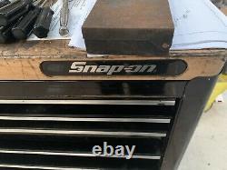 Snap Sur Outils Black Outils Utilisés Boite Roll Cab Cabinet 7 Tiroirs 40 Largeur Avec Travail