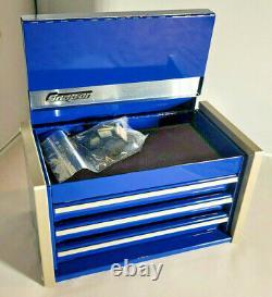 Snap-on Midnight Blue Miniature Mini Haut Supérieur De La Boîte À Outils Tiroirs Petit Cabinet