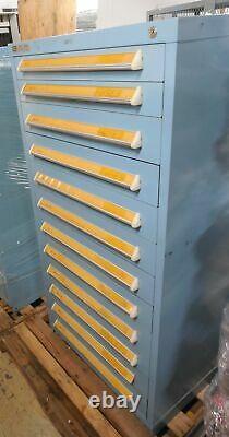 Stanley Vidmar 12 Tiroir Armoire Industrielle 30 X 28 X 59 Stockage Modulaire D'outils