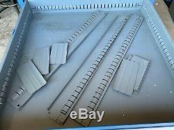 Style Utilisé Stanley Vidmar 10 Parties D'outils Armoire À Tiroirs De Rangement 59 Tall