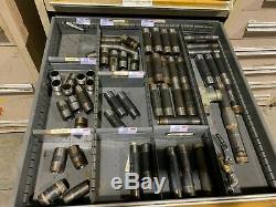 Style Utilisé Stanley Vidmar 12 Pièces Armoire À Outils Tiroir De Rangement Table Des Matieres Fixations