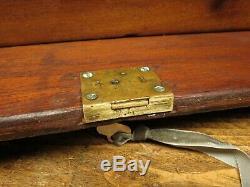 Tiroirs À Outils Verrouillables D'armoire Antique Union Watchmakers Des Années 1940