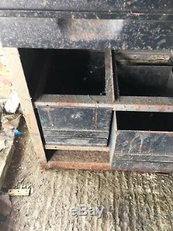 Tiroirs Vintage Métal Industriel Ingénieurs Unité Outil Cabinet Dessine
