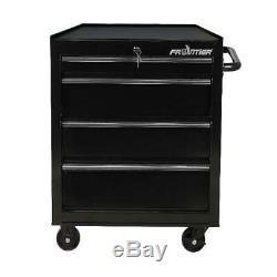 Tool Box Chest Métal Rolling Cabinet 26 Pouces 4 Tiroir Bas Atelier Rangement