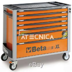 Trolley Commode Porte-outils Mobile Beta C24sa-xl 7/0 Tiroirs 7 Orange