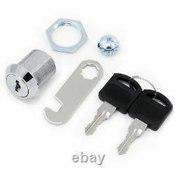 Uk Cam Lock Pour Armoire De Porte Boîte À Lettres Tiroir Armoire 16mm 20mm 25mm+2 Clé