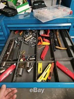 Vider Polstore Bott Lista Style Tooling Cabinet 9 Tiroirs