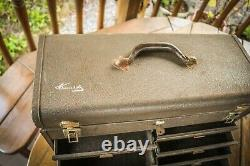 Vintage Kennedy 7 Engineers Tiroir Boîte À Outils En Métal Cabinet Rare