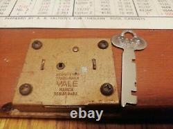 Vintage Neslein 8 Tiroir Ingénieurs Toolmaker Boîte À Outils En Bois Coffret