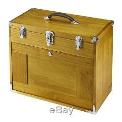 Windsor 8 Bois Tiroir En Bois Outil De Stockage Chest Box Boîte À Outils Craft Couture Cabinet