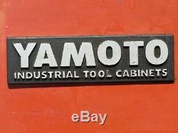Yamoto 7 Tiroirs Rouleau Cabine 6 Tiroir Boîte À Outils Armoire À Outils Coffre Avec Plateau